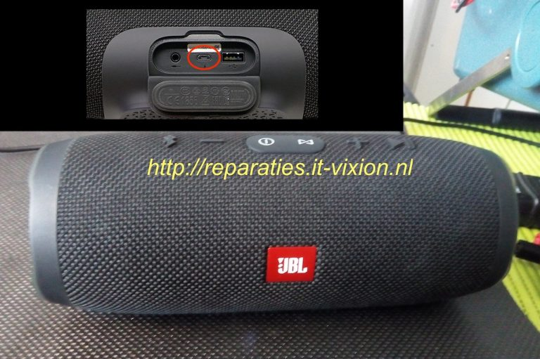 JBL Charge 3 micro usb connector reparatie