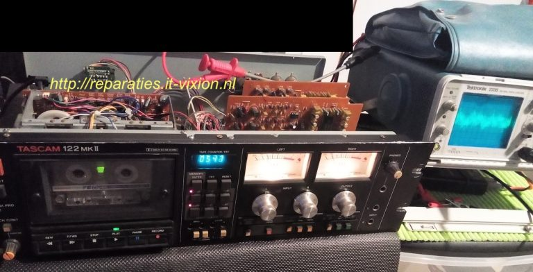 tascam 122 mkii cassette speler