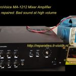 EV MA-1212 Mixer Amplifier