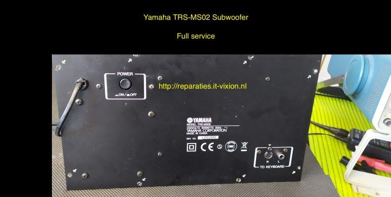 Yamaha TRS-MS02 Subwoofer