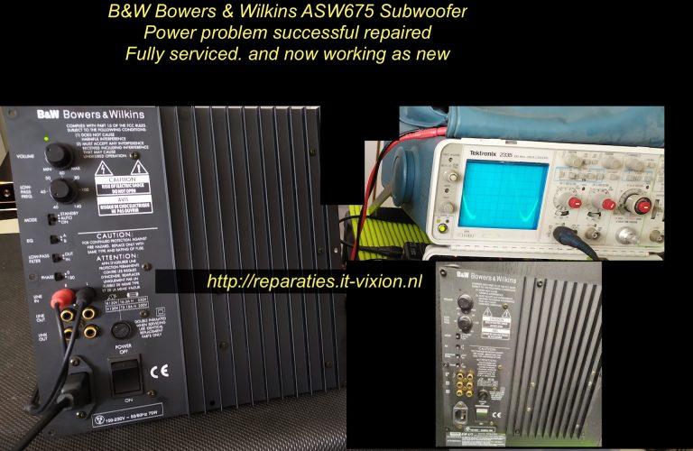 B&W Bowers & Wilkins ASW 675