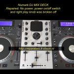 Numark dj mix deck