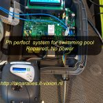 Ph perfect system for swimming pool