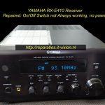YAMAHA RX-E410 receiver