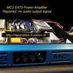 MC2 E475 Power Amplifier