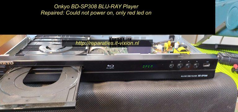Onkyo bd-sp308 Blu-ray Player
