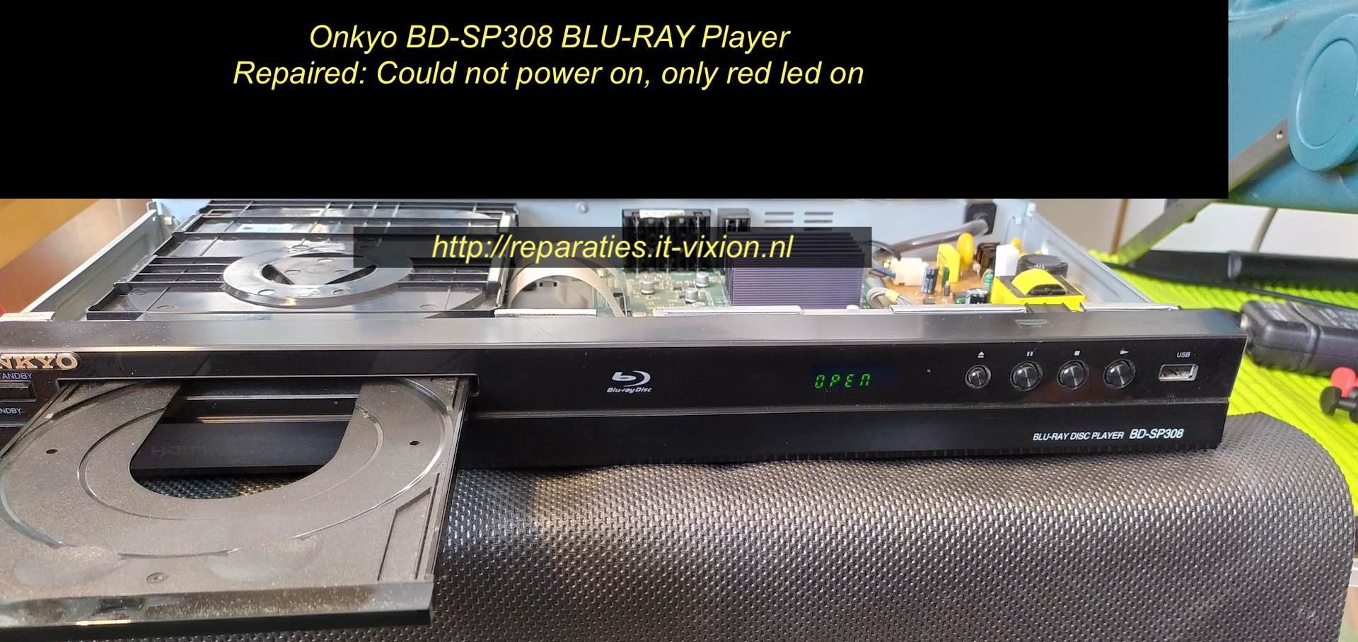 Onkyo bd-sp308 Blu-ray Player