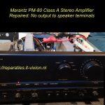 Marantz PM-80 Class A Amplifier