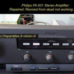 Philips FA 931 Amplifier