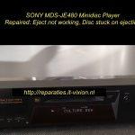 SONY MDS-JE480 Minidisc
