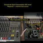 Soundcraft Spirit Powerstation 600 mixer