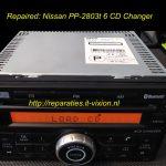 Nissan PP-2803 6 cd changer