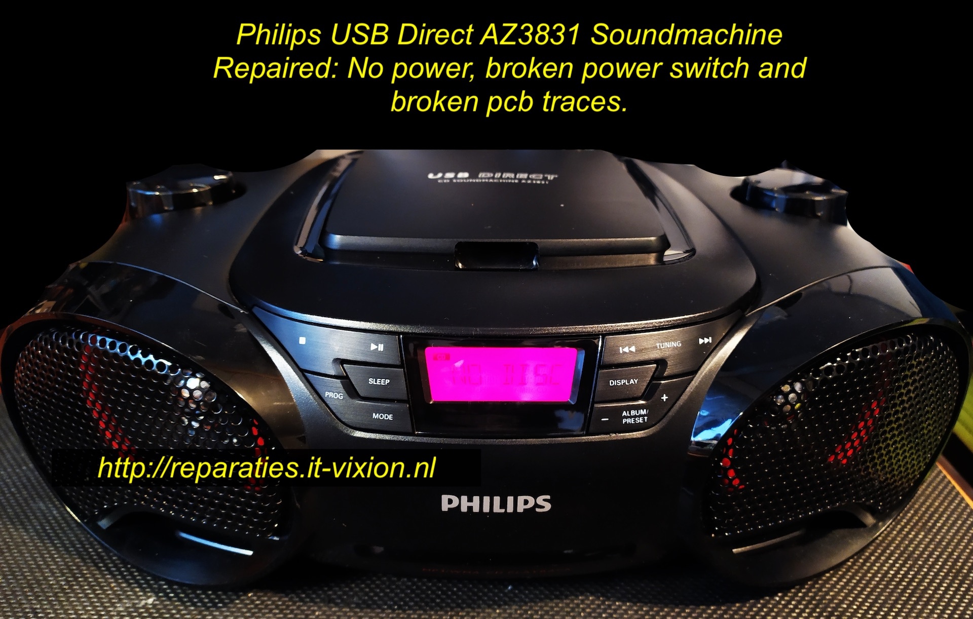 Philips usb az3831 soundmachine
