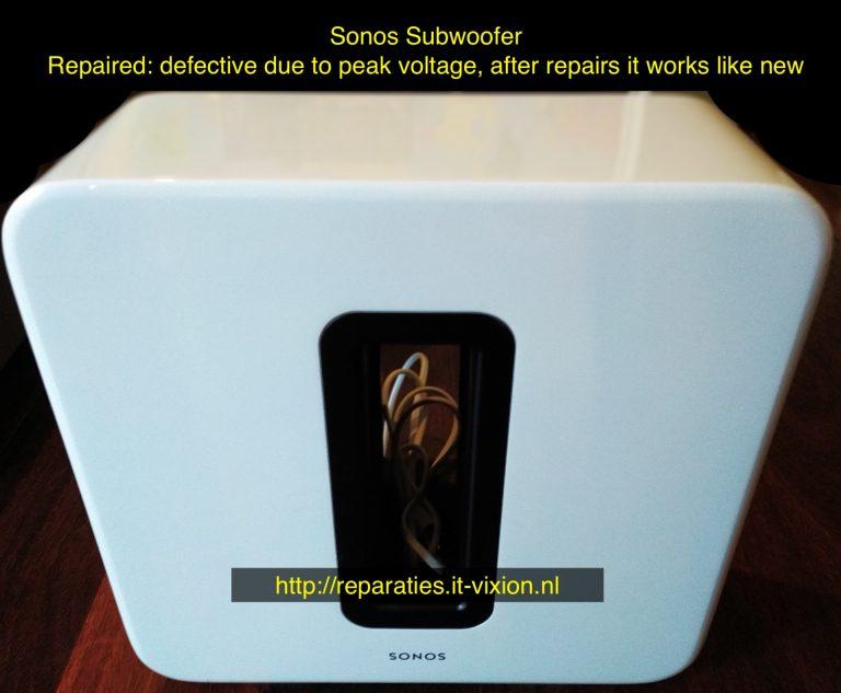 Sonos subwoofer