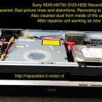 Sony RDR-HX750 dvd hdd recorder