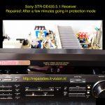 Sony str-de435 5.1 receiver