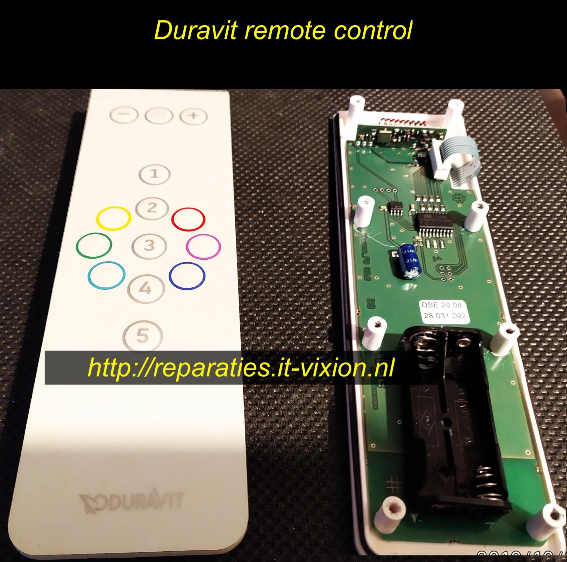 Duravit remote control