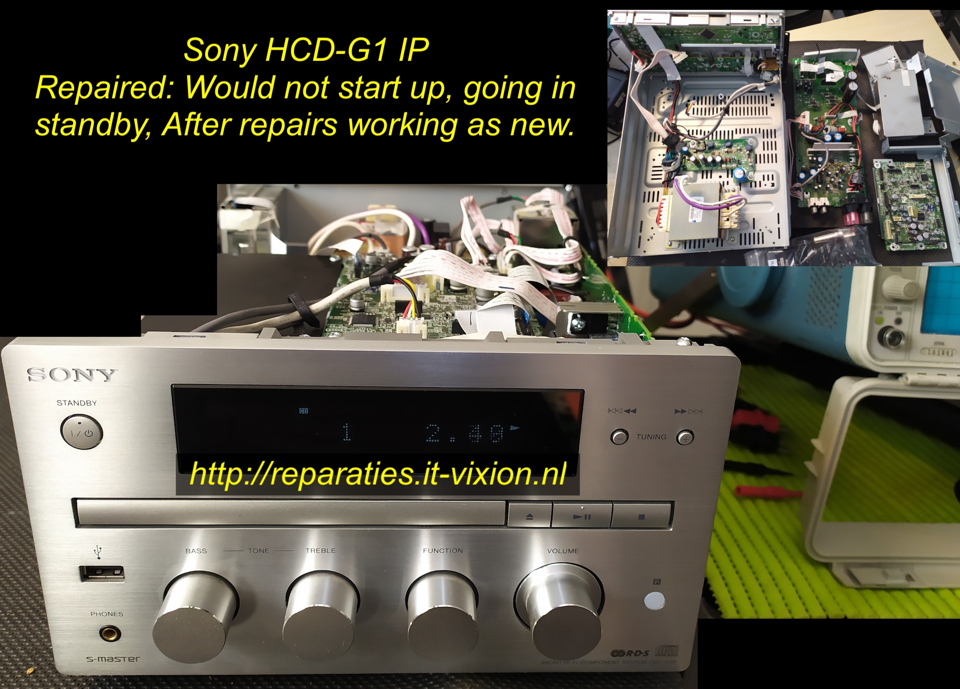 Sony hcd-G1 IP