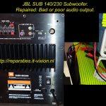 JBL SUB 140/230