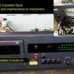 NAD 6100 cassette deck