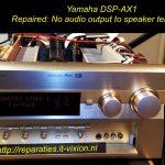 Yamaha dsp-ax1 av receiver