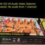 AKAI audio video selector SS-V5