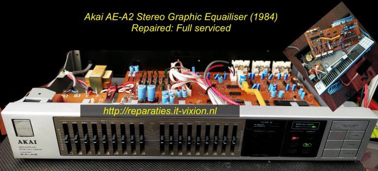 Akai AE-A2 stereo graphic equaliser 1984