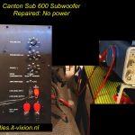 Canton Sub 600