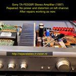 Sony TA-FE510R Amplifier 1997