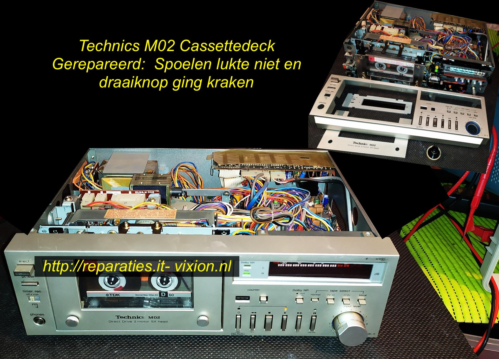 Technics M02 cassettedeck