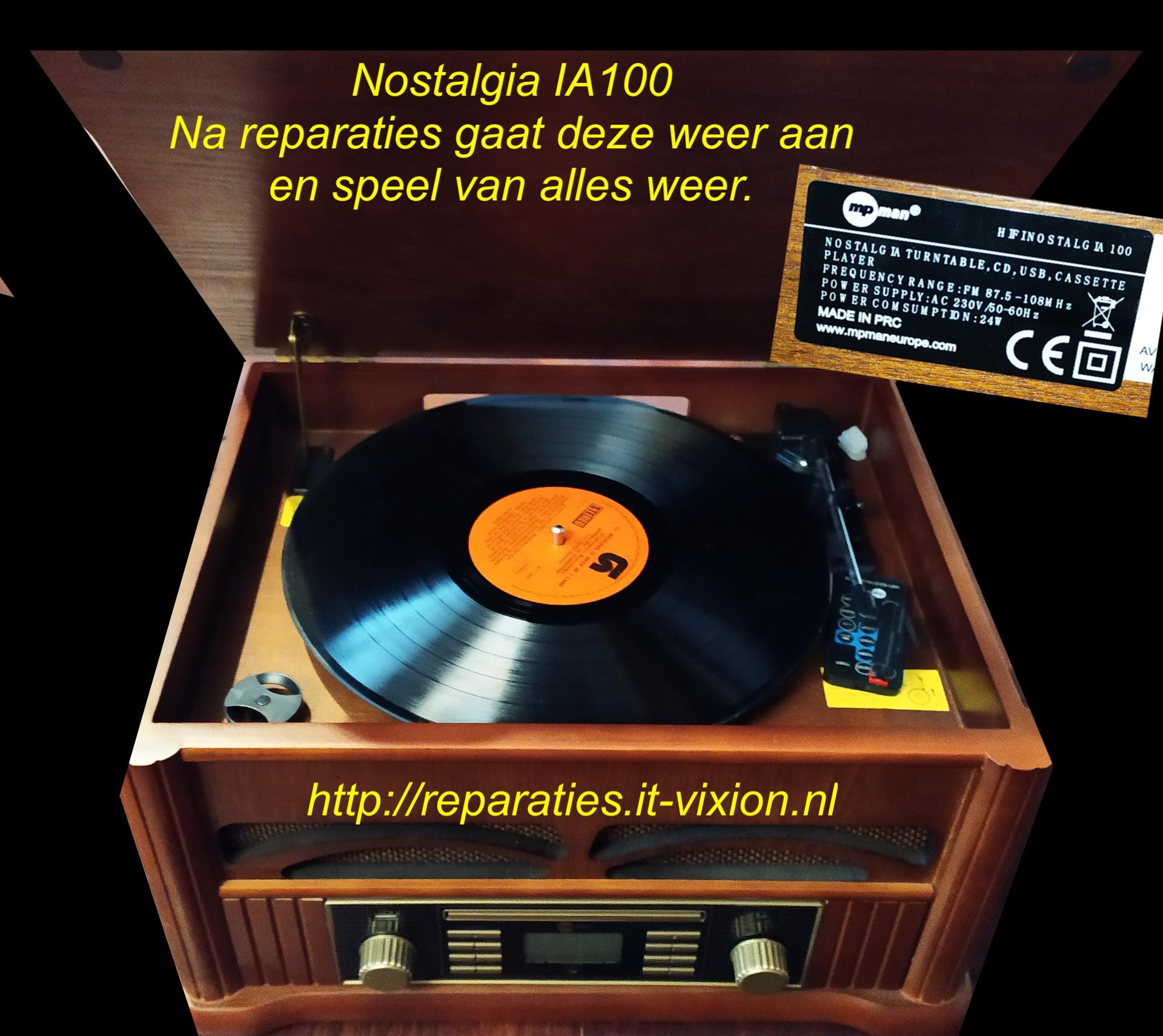Nostalgia IA100