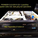 Pioneer CLD-D515 LaserDisc