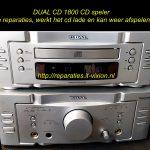 DUAL CD1800 cd speler