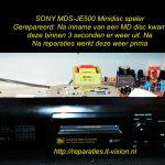 sony mds-je500 minidisc