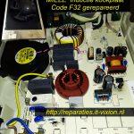 Miele inductie kookplaat code F32