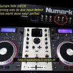 Numark mixdeck aux input
