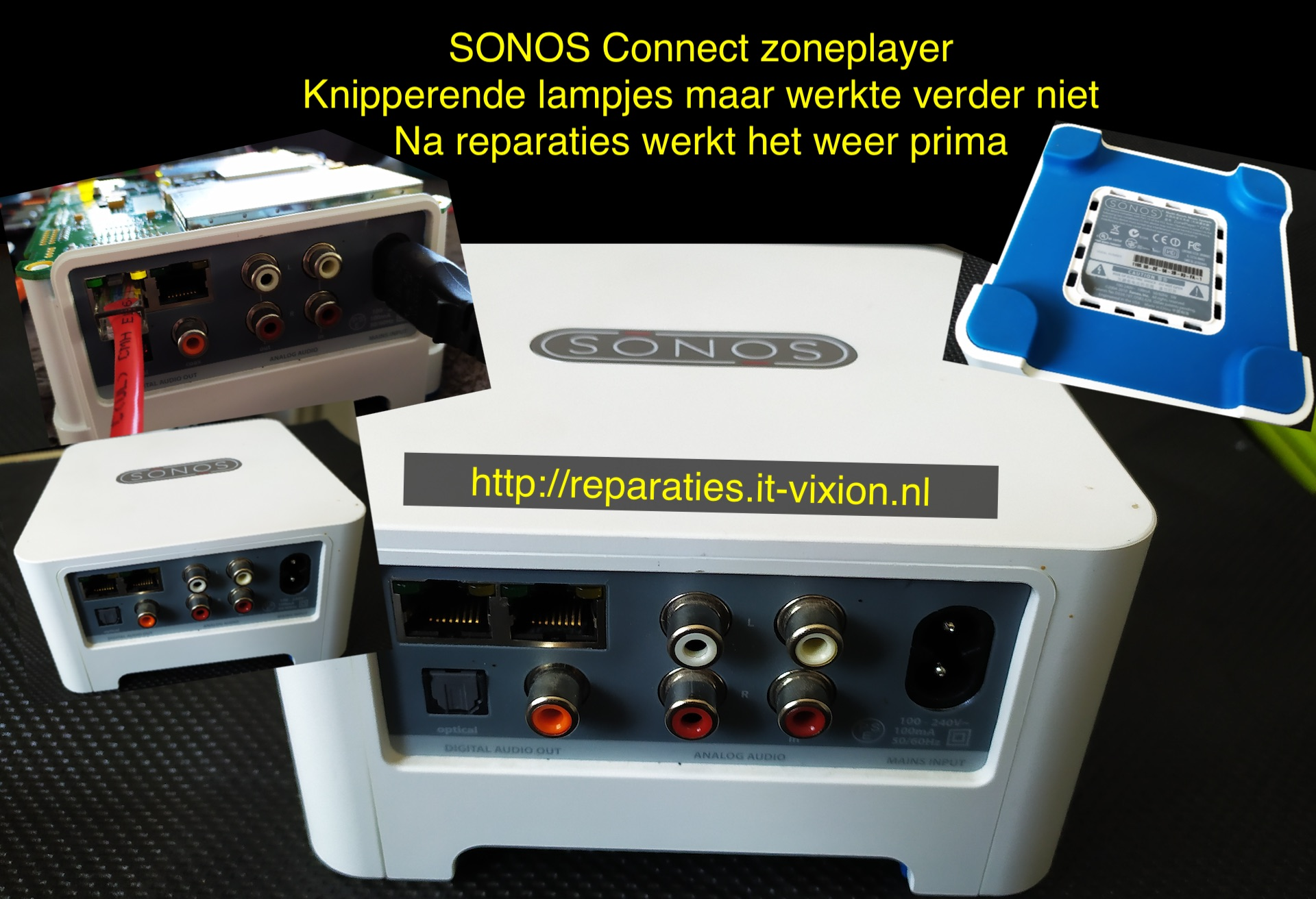 SONOS Connect zoneplayer