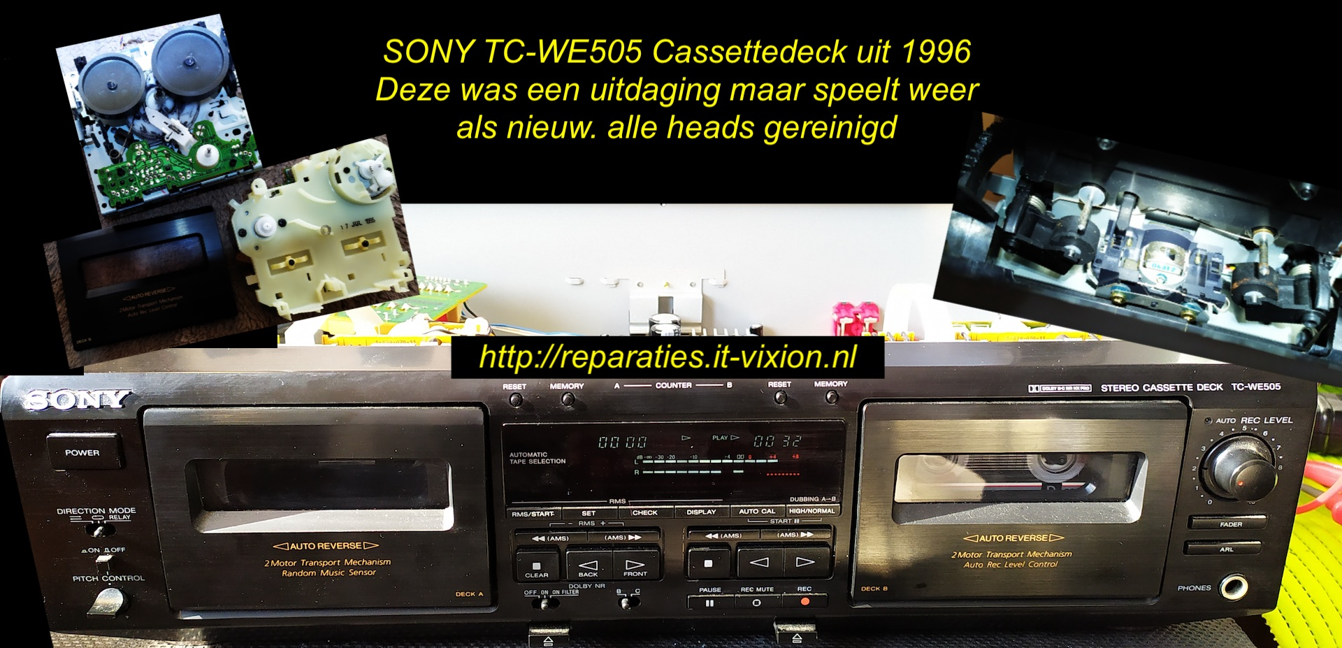 Sony TC-WE505 Cassette deck