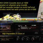 AKAI GX-95 Cassette deck
