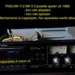 TASCAM 112MK II Cassette speler