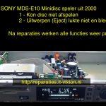Sony MDS-E10 Minidisc