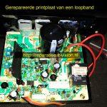 Loopband printplaat