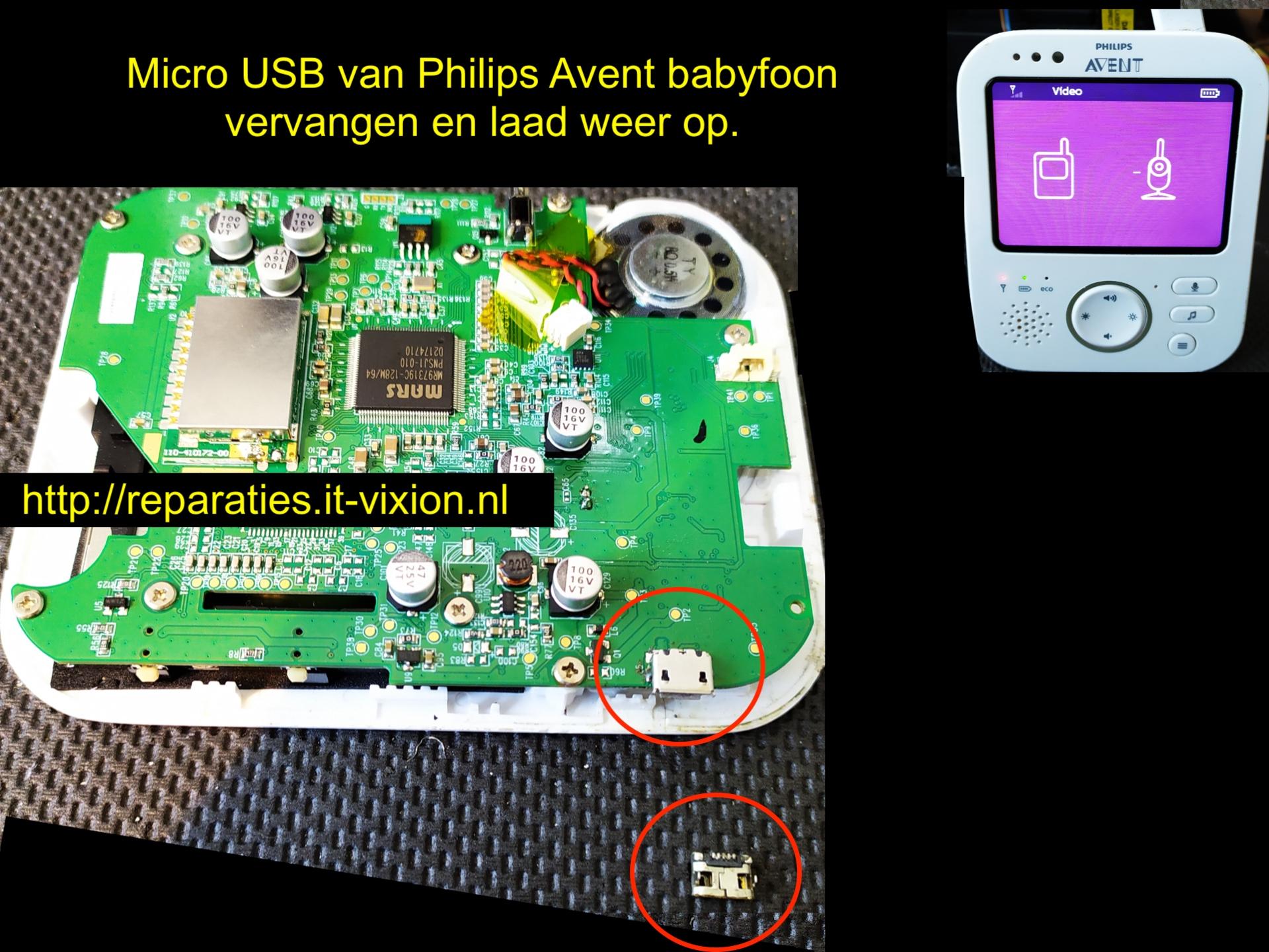 Philips AVENT Babyfoon