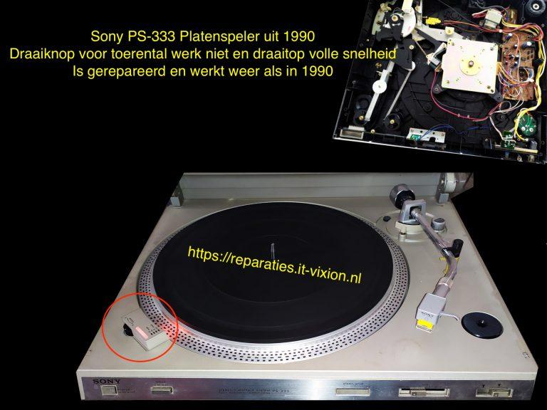 Sony PS-333