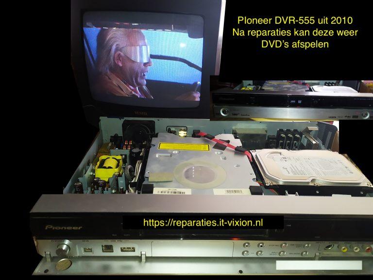 Pioneer DVR 555 uit 2010