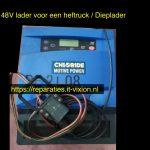 Chloride motive power 48V Lader