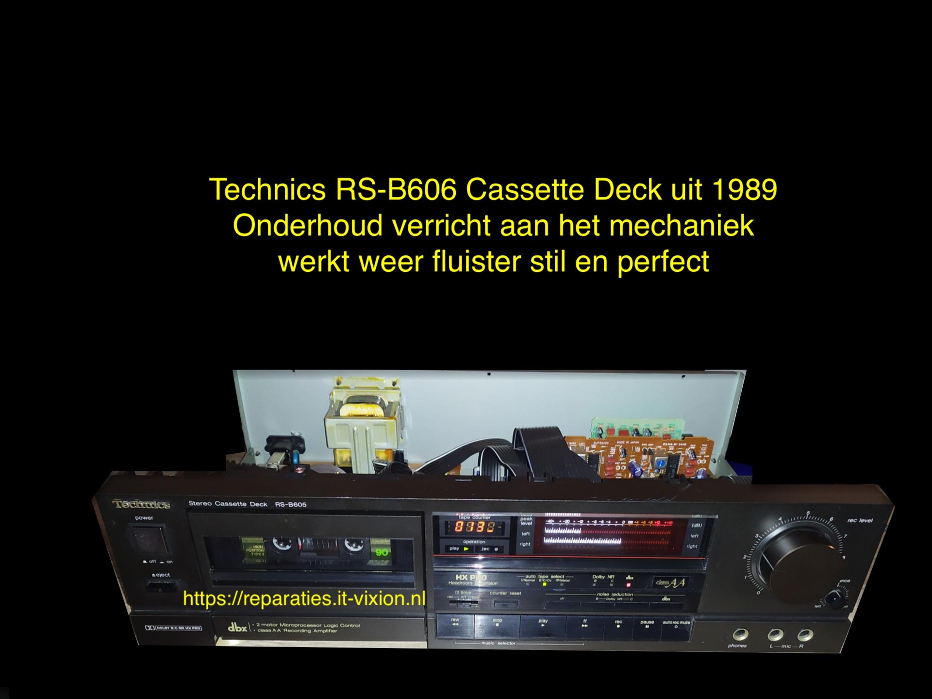 Technics RS-B606 Cassette Deck