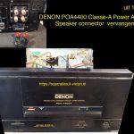 DENON POA 4400A Mono block