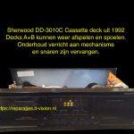 Sherwood DD-3010C Cassette deck