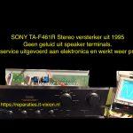 Sony TA-F461R